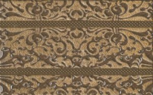 inserto Kashmire brown 25 x 40