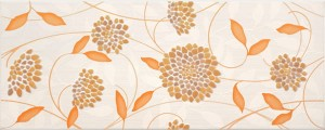 inserto Synthia flower orange 20 x 50 WD206-009